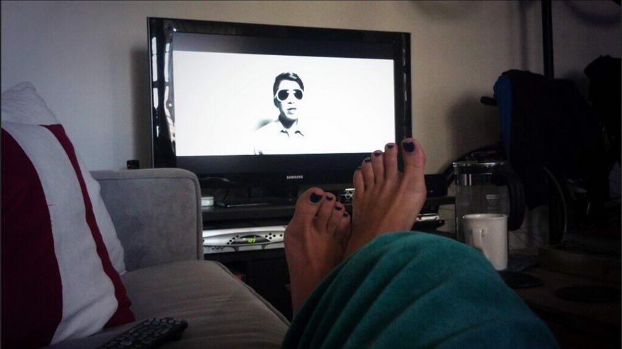 Kaitlin Monte Feet
