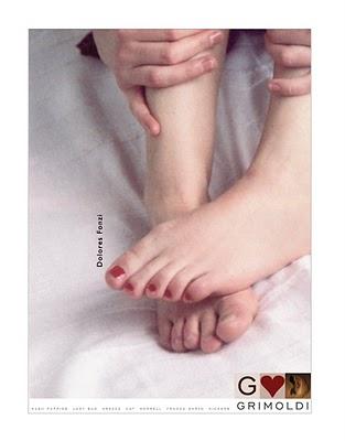 Dolores Fonzi Feet