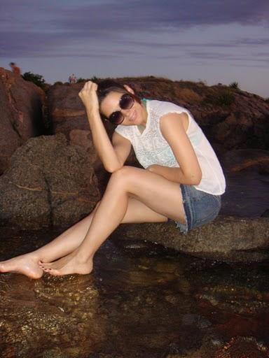 Fernanda Machado Feet