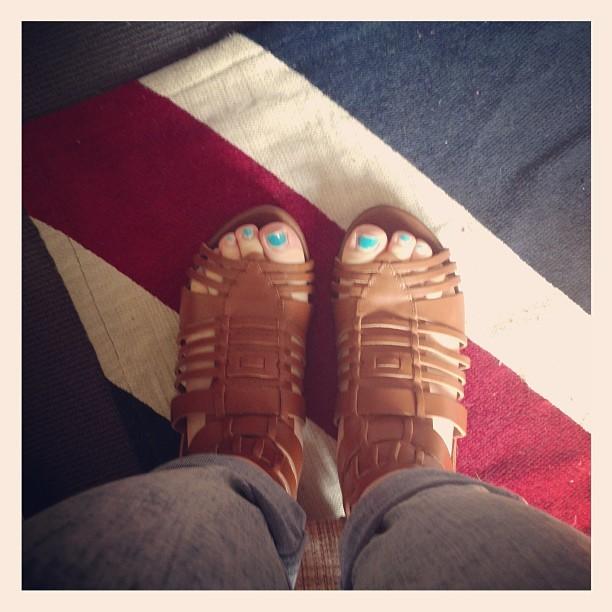 Lucinda Dryzek Feet