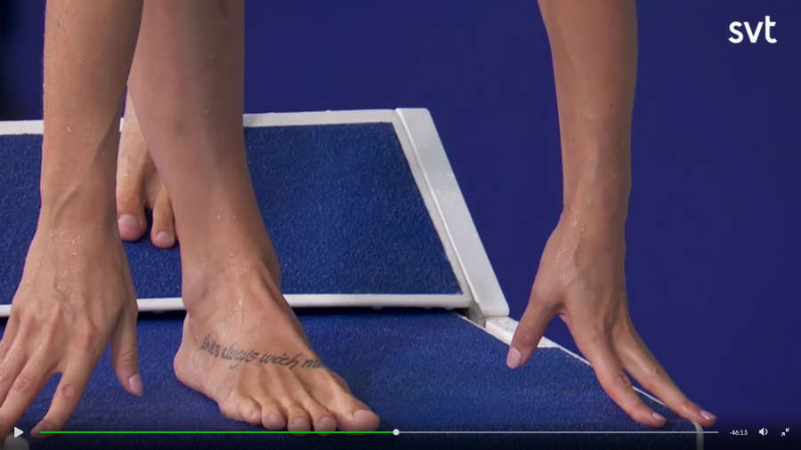 Pernille Blume Feet