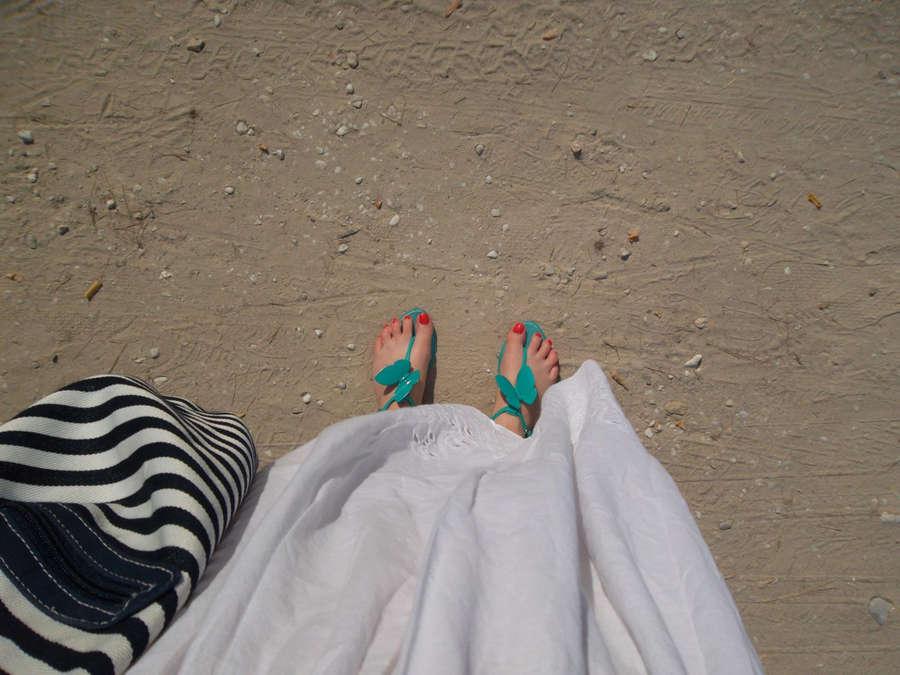 Alexandra Ungureanu Feet