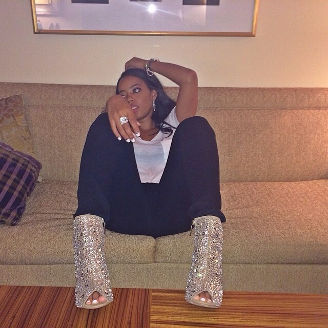 Angela Simmons Feet