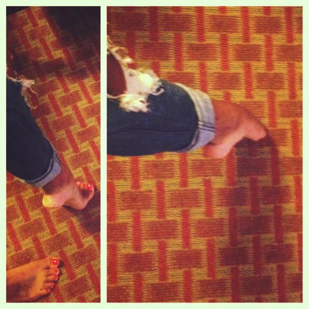 Kamille Leai Feet