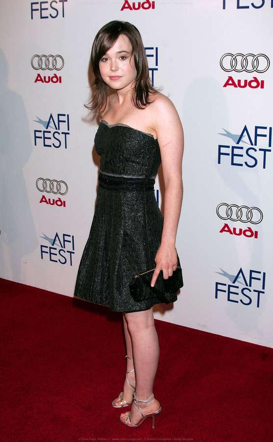 Feet ellen page Actress Ellen
