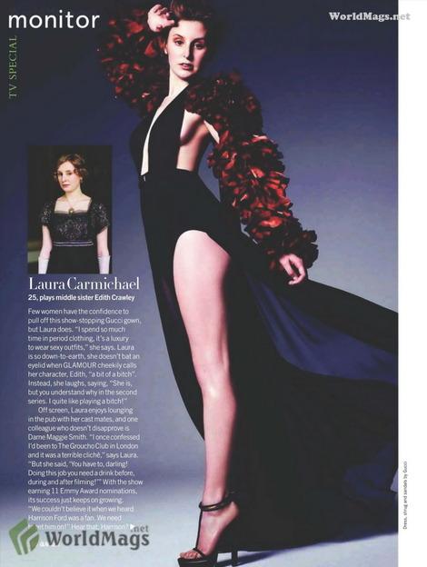 Laura Carmichael Feet