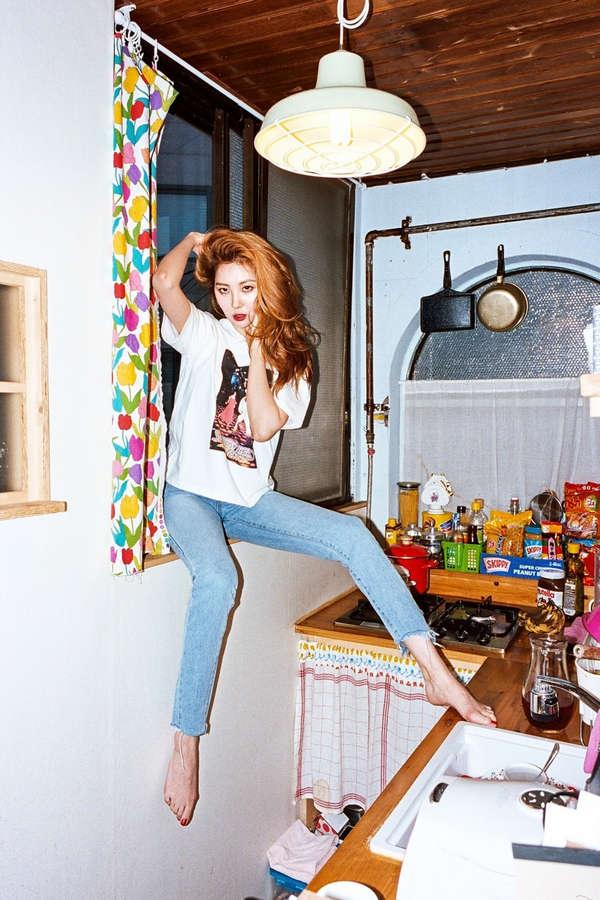 Lee Sun Mi Feet