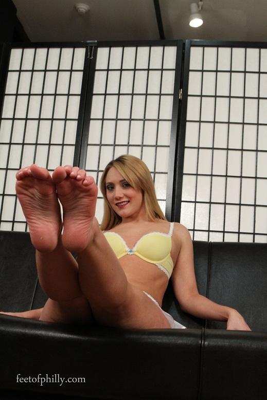 A J Applegate Feet