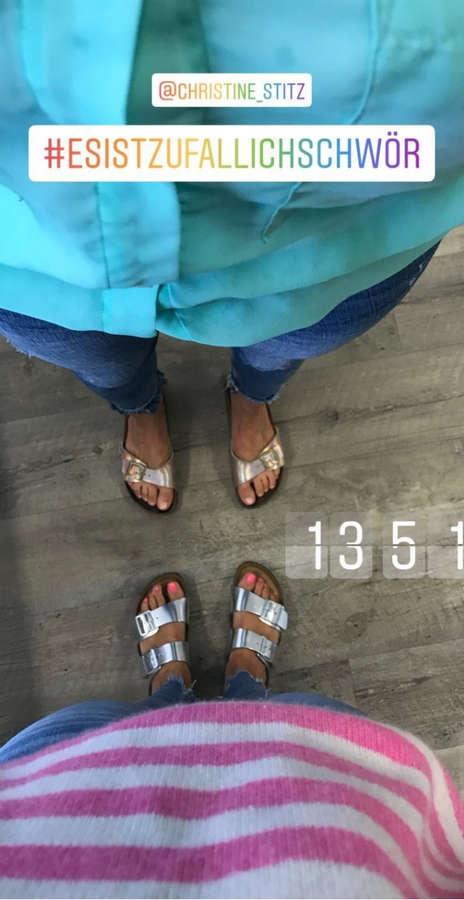 Judith Rakers Feet