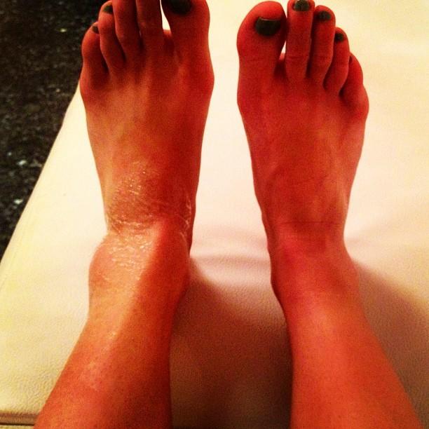 Abby Hughes Feet
