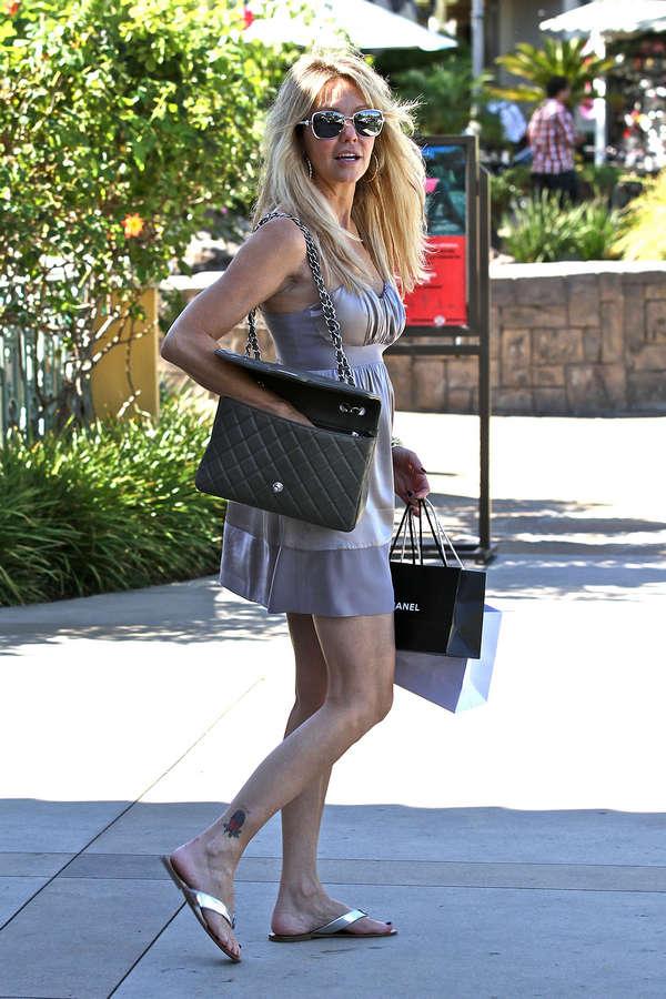 Heather Locklear Feet