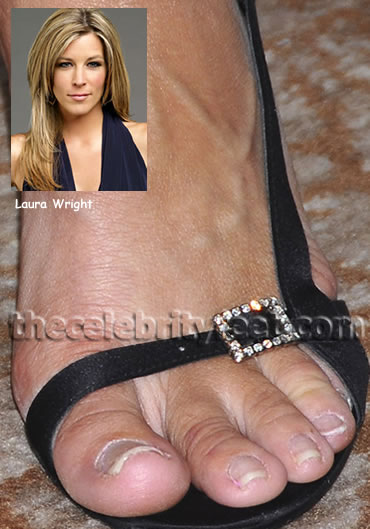 Laura Wright Feet