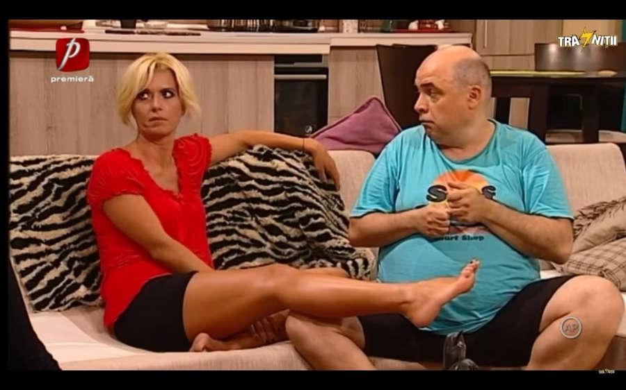 Raluca Guslicov Feet