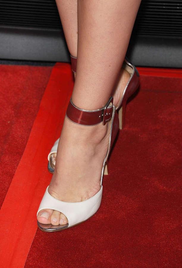 Megan Boone Feet