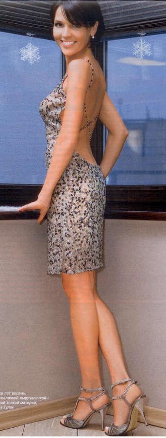 Анастасия чернобровина босиком фото