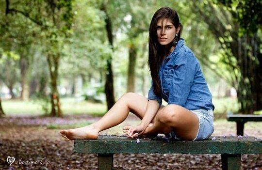 Aline Franzoi Feet