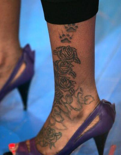 Fantasia Barrino Feet