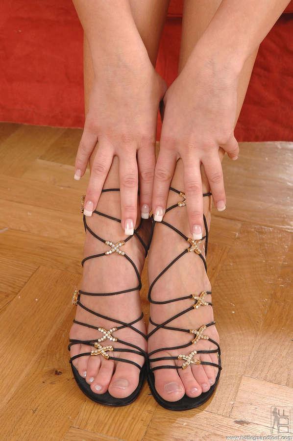 Zuzana Drabinova Feet