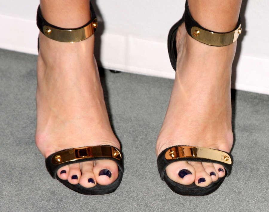 Casey Wilson Feet