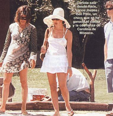 Nadine Casiraghi Feet