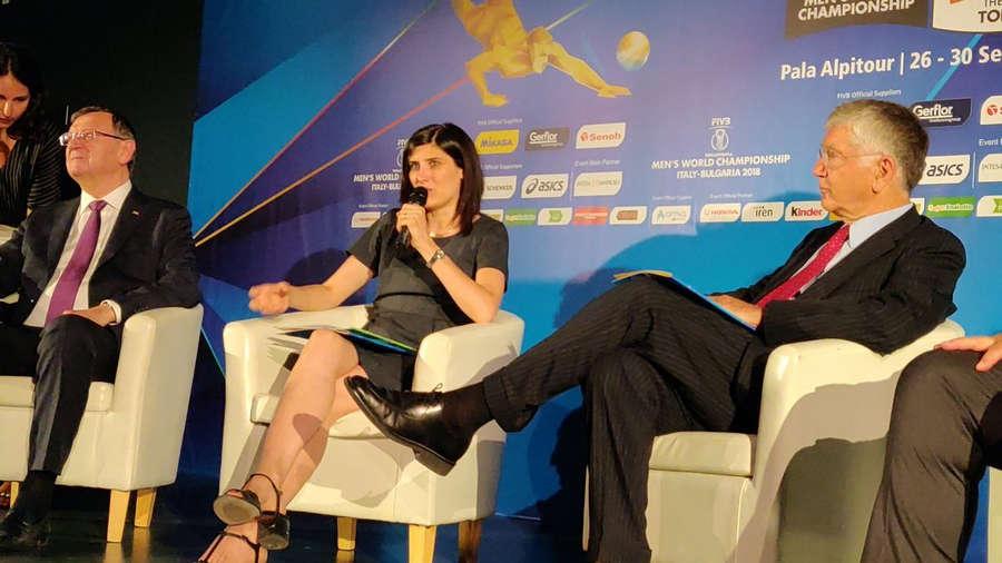 Chiara Appendino Feet