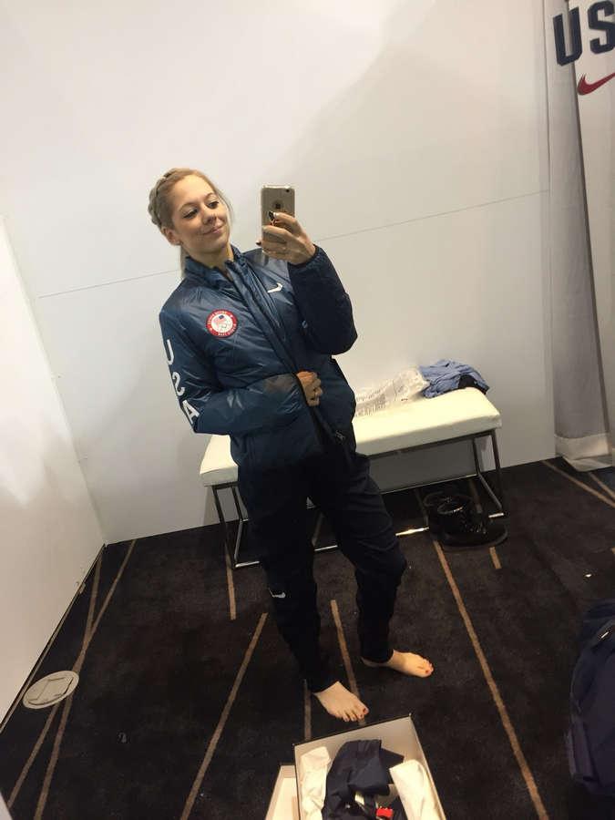 Alexa Scimeca Knierim Feet