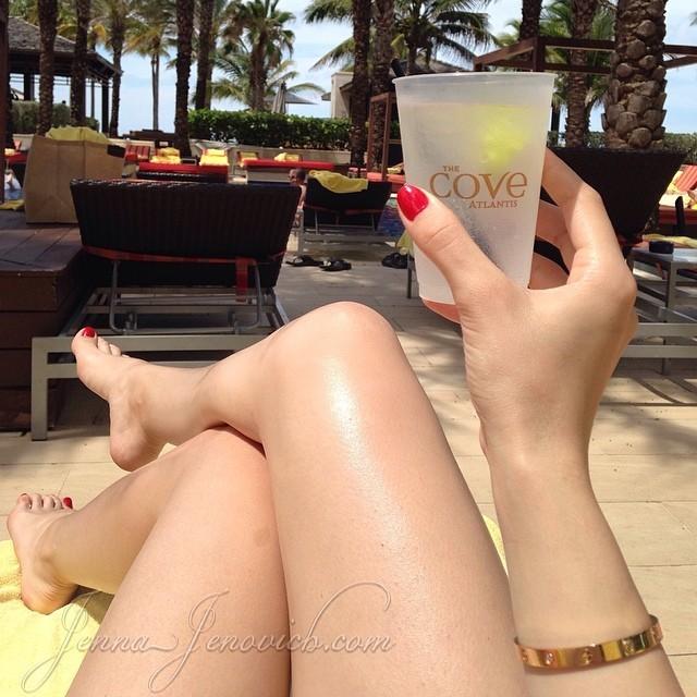 Jenna Jenovich Feet