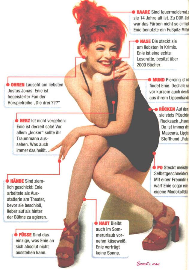 Enie Van De Meiklokjes Feet