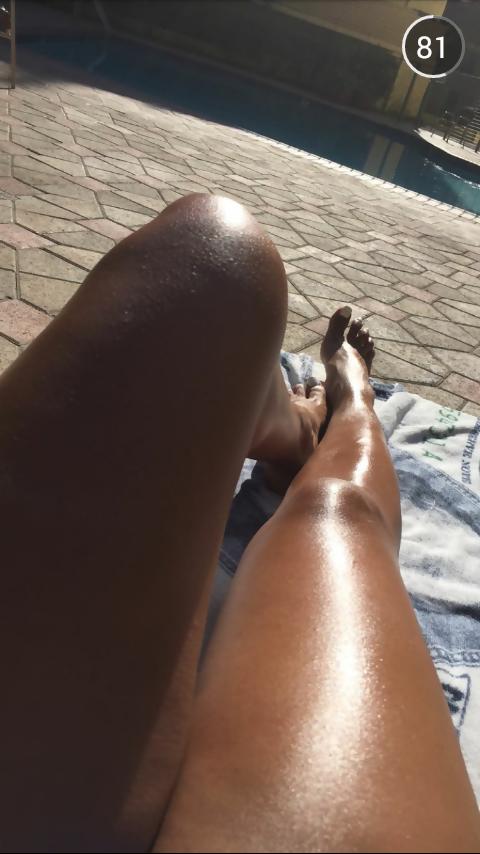 Mila J Feet