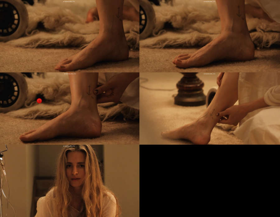 Brit Marling Feet
