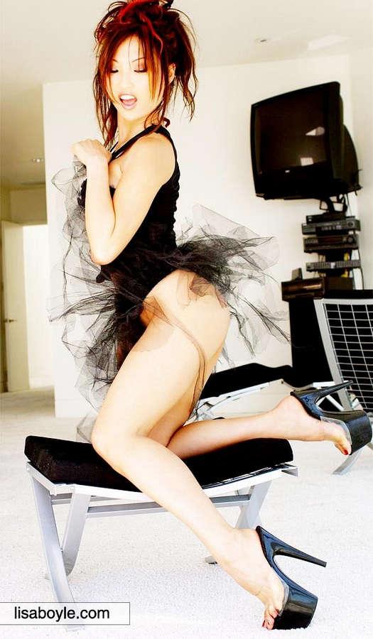 Felicia Tang Feet
