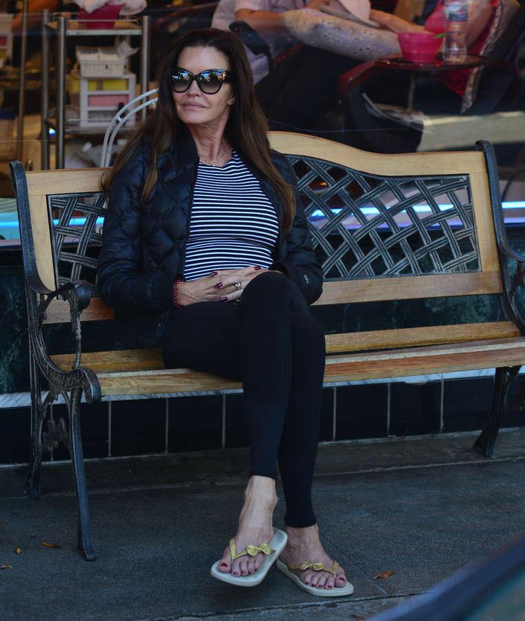 Janice Dickinson Feet