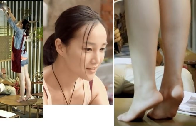 Jessie Zhou Hong Feet