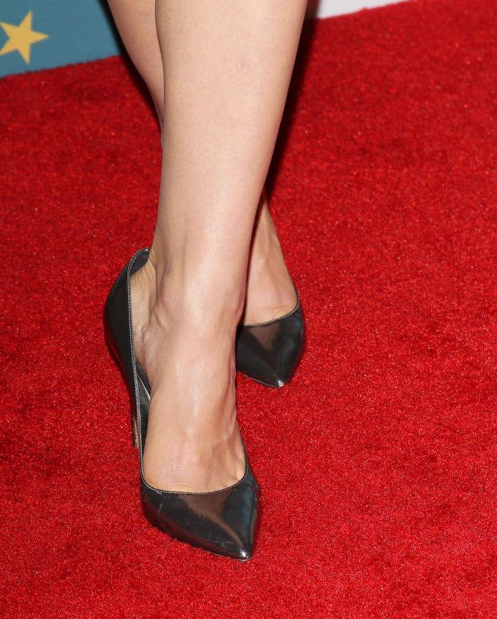 Crystal Reed Feet