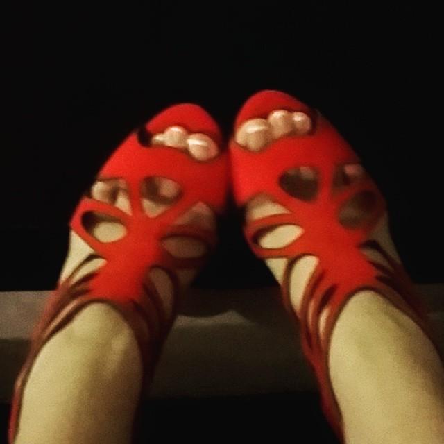 Charlotte Stokely Feet