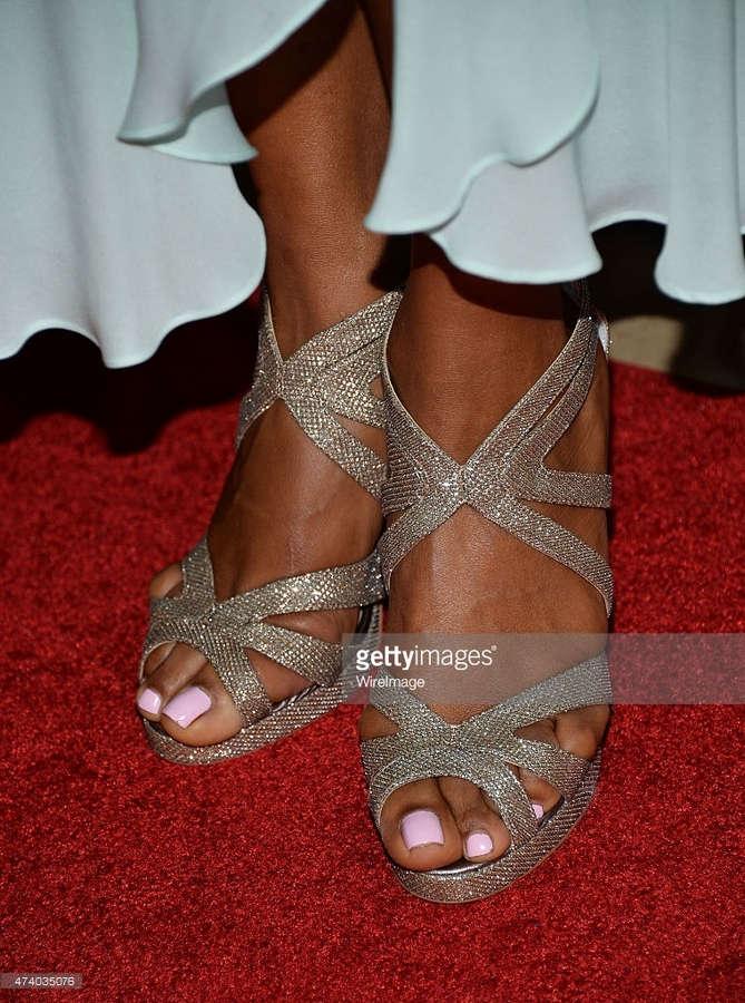 Laila Ali Feet