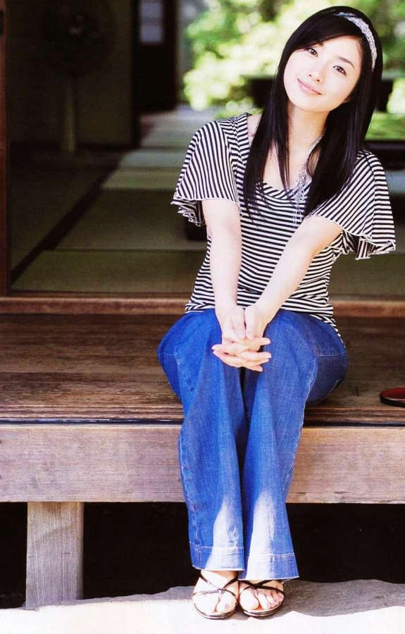 Satomi Ishihara Feet