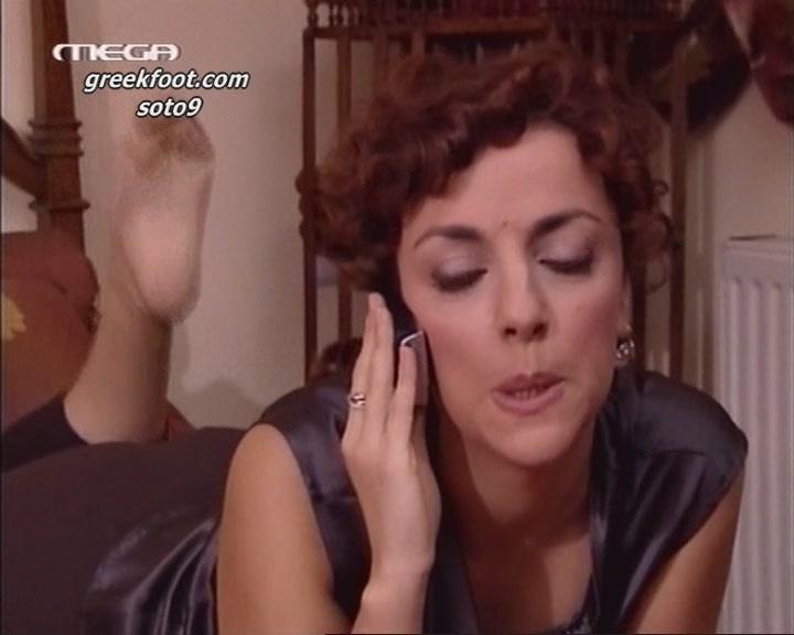 Alina Kotsovoulou Feet