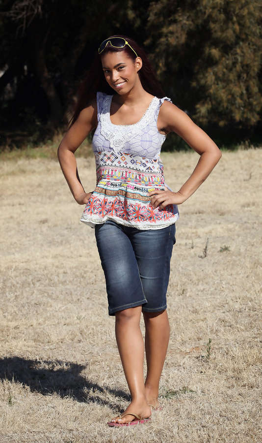Chantelle Tagoe Feet