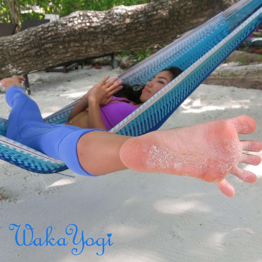 Waka Yogi Feet