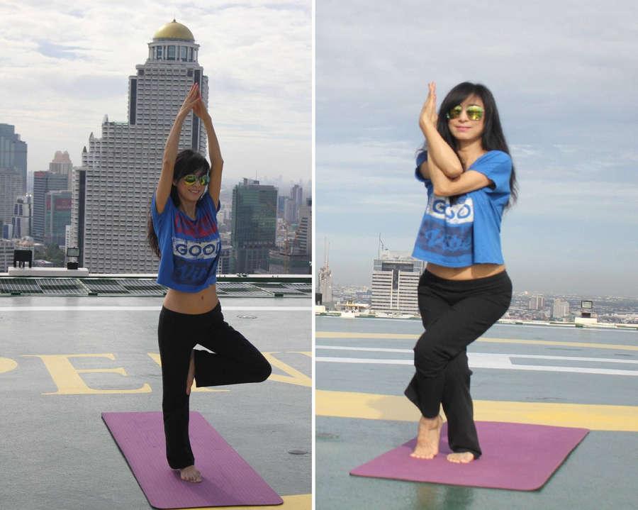 Michelle Yim Feet