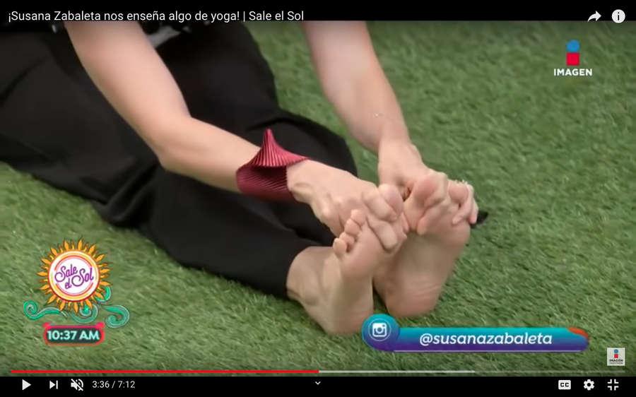 Susana Zabaleta Feet