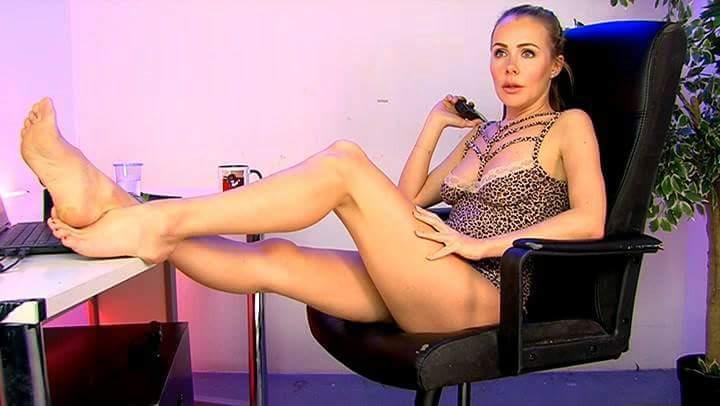 Becky Roberts Feet