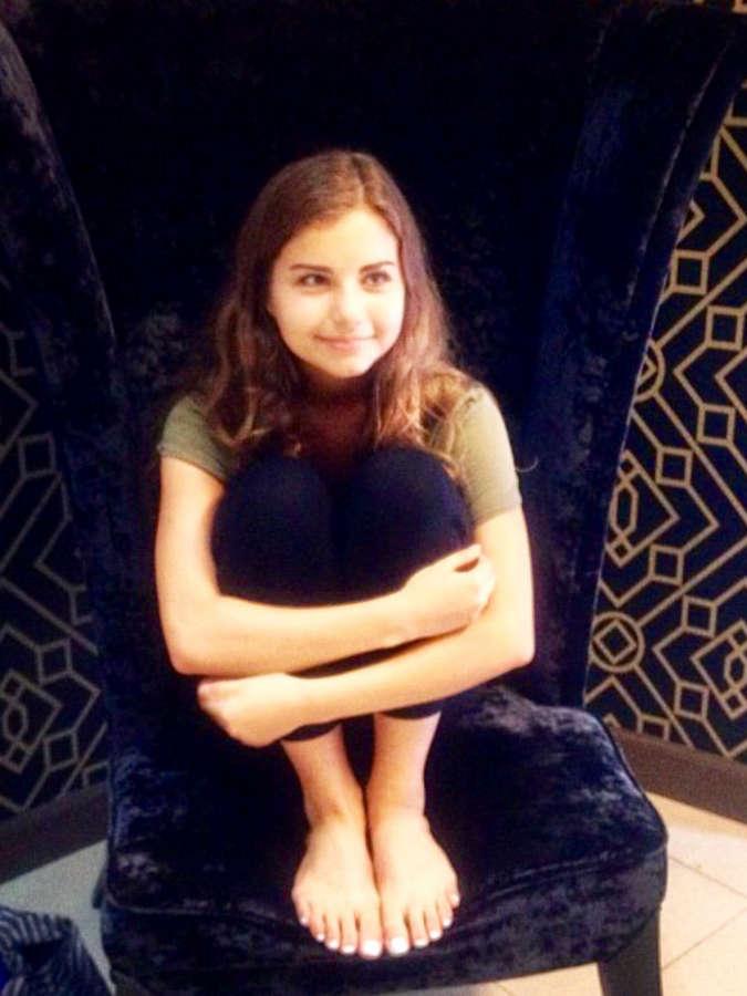 Violetta Komyshan Feet