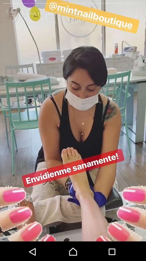 Juanita Ringeling Feet