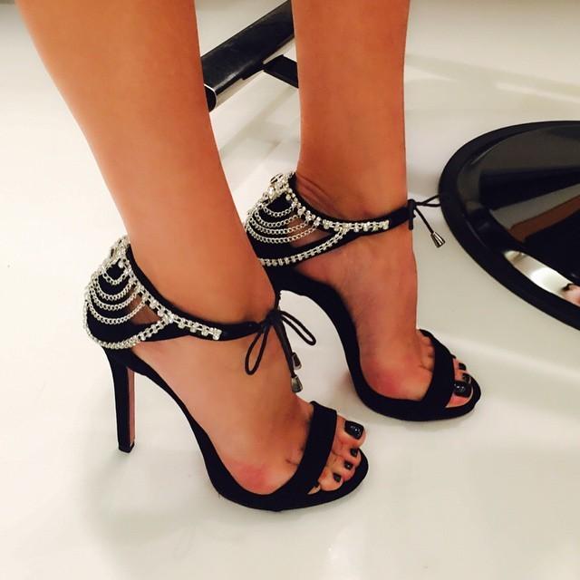 Cagla Sikel Feet