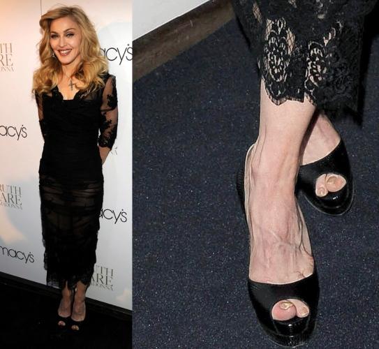 Madonna Feet