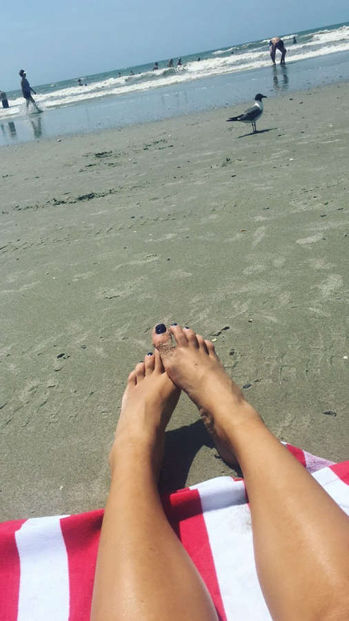 Kayla Becker Feet