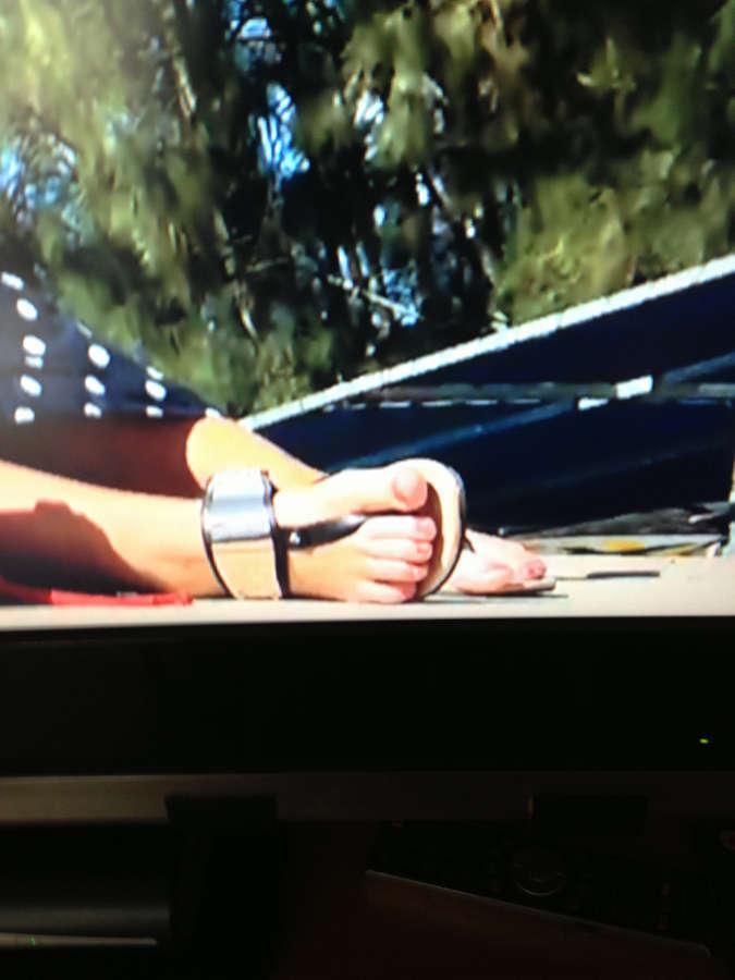 Holly Hagan Feet