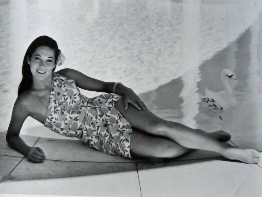 Nancy Kwan Feet